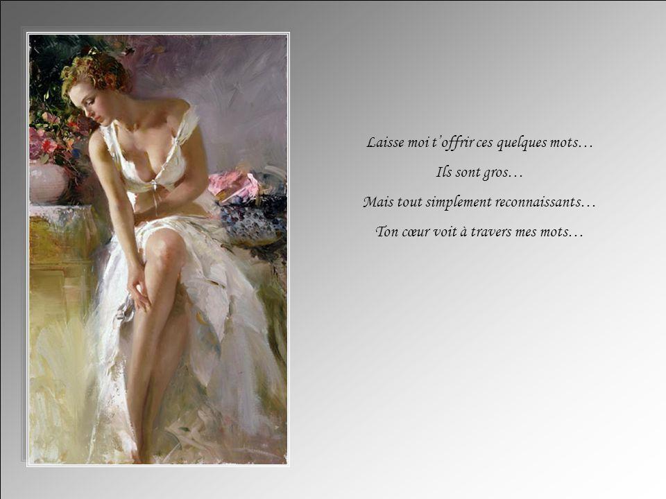 Ma façon de vous dire…MERCI… Auteur de ce texte : Clara Texte copyright http://lestextesdeclara.com Musique: Viens tendrement Création : Michelle Blouin