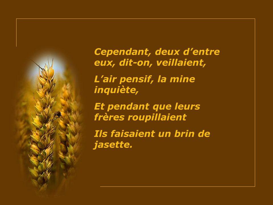Tu seras, dit-Elle au deuxième, Le Pain vivant, mon Fils Lui-même, Le pain sacré de lostensoir. »