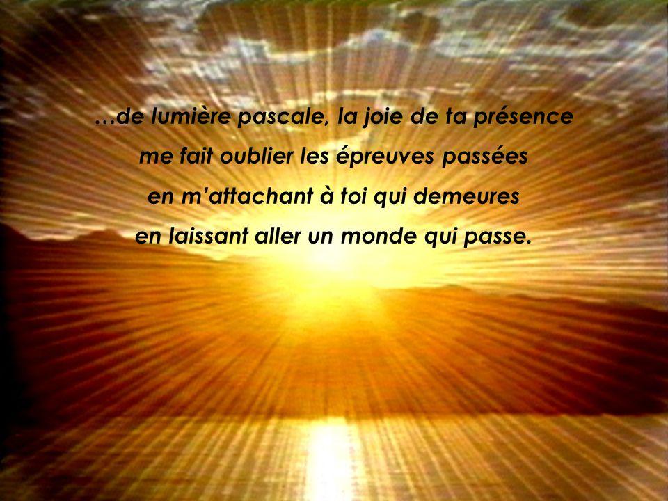 …tu mapprends le chemin de lattente, faite de foi et despérance en tes promesses de vie,…