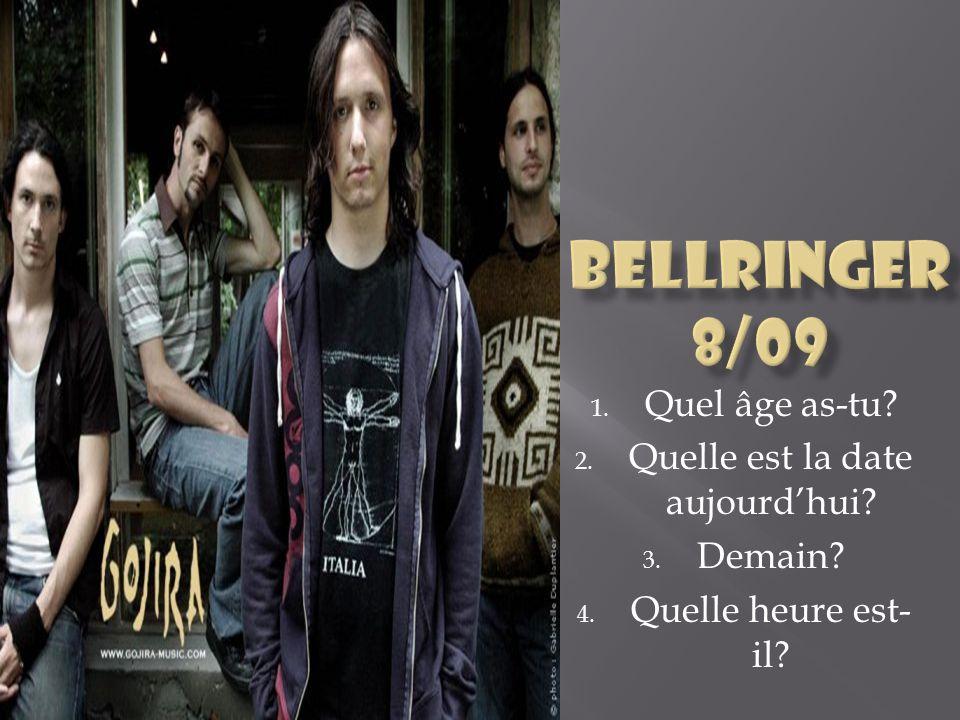 Bellringer (pour pratiquer) Un rappel de vos présentations des télépoches!.