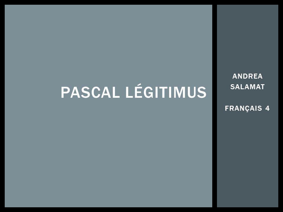 Pascal Légitimus est très connu pour son travail en tant quhumoriste, acteur, et réalisateur.