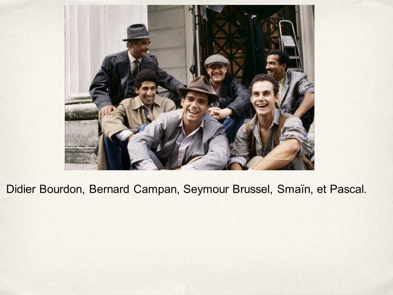 Didier Bourdon, Bernard Campan, Seymour Brussel, Smaïn, et Pascal.