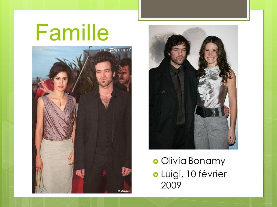 Famille Olivia Bonamy Luigi, 10 février 2009