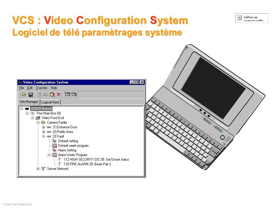 Impressions et exportations dimages Video Verification 21 VIDEO