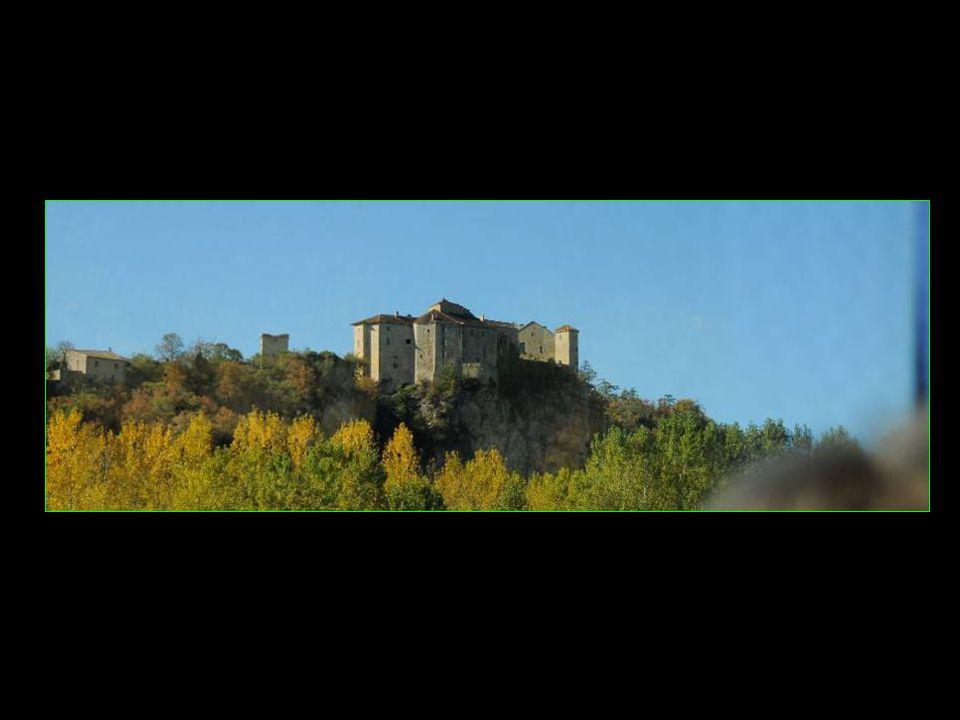 Puycelsi vu de la montée vers la Grésigne