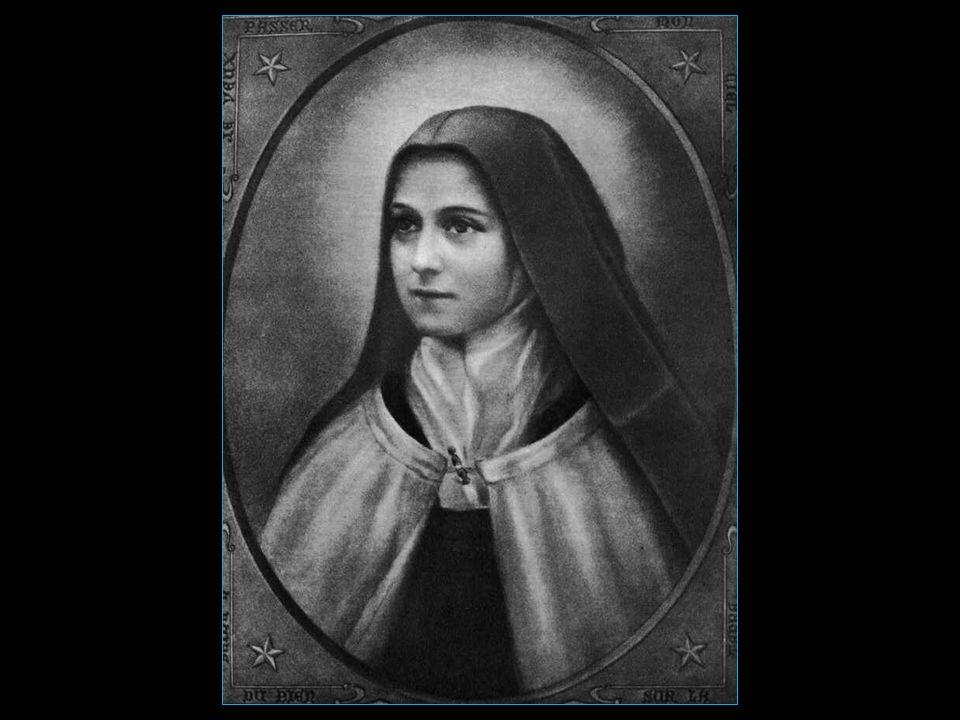 Sainte-Thérèse 1873 – 1897 de son vrai nom Thérèse Martin sœur carmélite béatifiée le 29 avril 1923