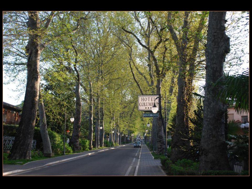 Notre hôtel Columbus est situé au bord du lac de Bolsena
