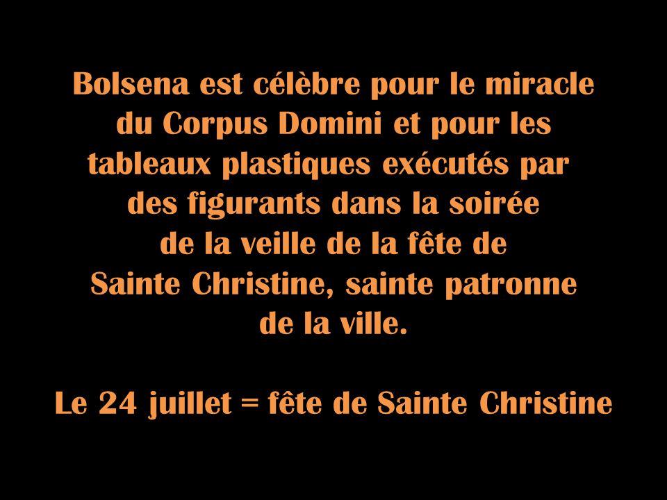 Le Pape Urbain IV décida détendre à toute lEglise La Fête Dieu, afin que ce sacrement sublime et vénérable fût pour tous la mémoire de lextraordinaire Amour de Dieu pour nous