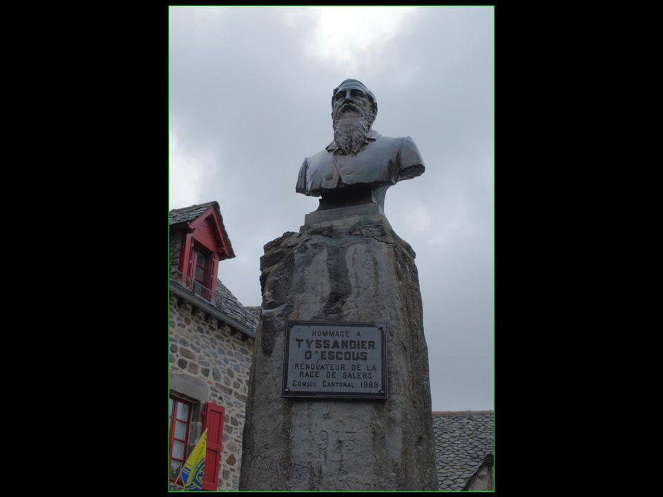 Ernest Tyssandier dEscous 1813 – 1889 rénovateur de la race bovine Salers