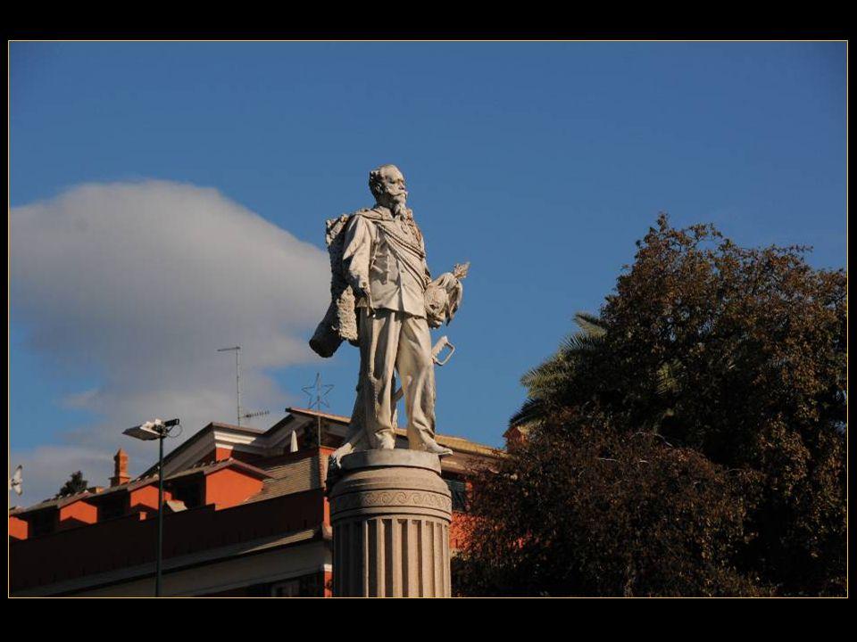 La statue de Vittorio Emanuele II