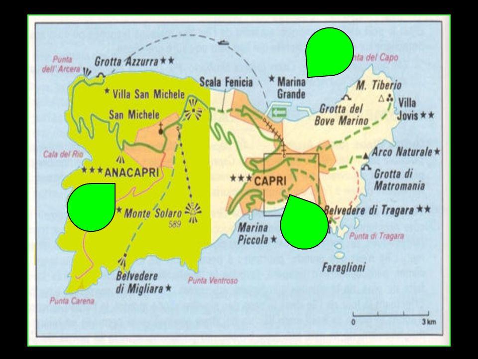 Sur son territoire se trouvent la commune homonyme de Capri et la commune dAnacapri