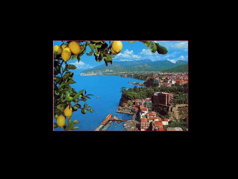 Sorrento est une ville De 16600 habitants De la région de Campanie Province de Naples