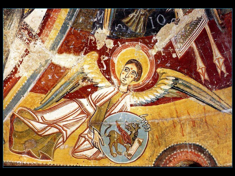 Larchange saint Michel est dailleurs représenté sur une peinture située au cœur de labside
