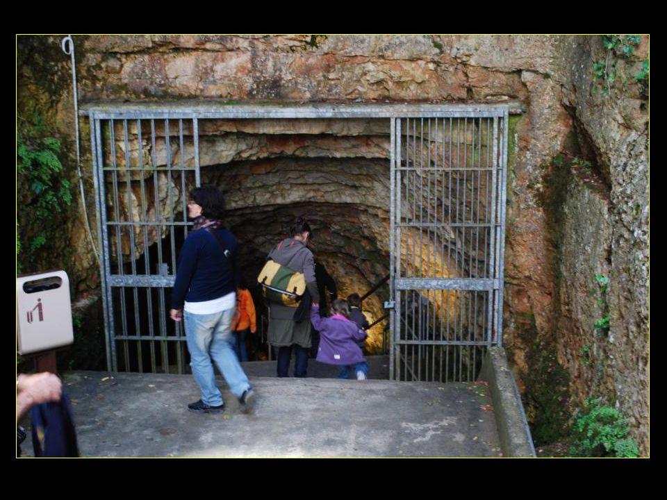 Allons descendre dans les grottes et prenons lescalier de 250 marches !!!