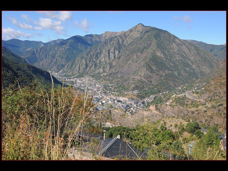 Andorre-la-Vieille est la capitale de la Principauté dAndorre