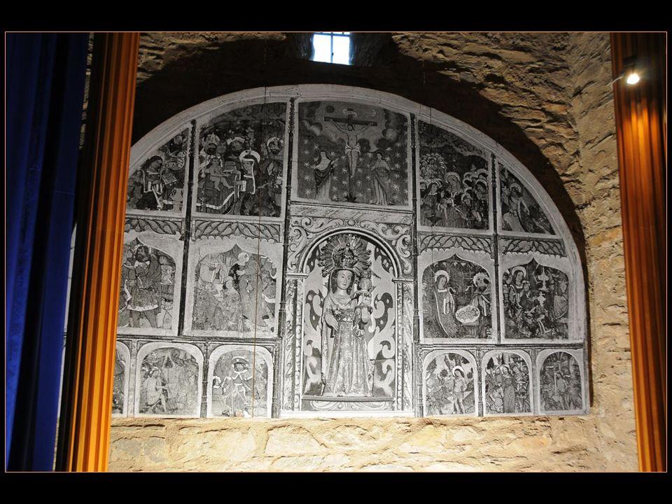 Cest aujourdhui Un lieu de pèlerinage Pour rendre hommage À la Vierge de Meritxell Patronne de la principauté dAndorre