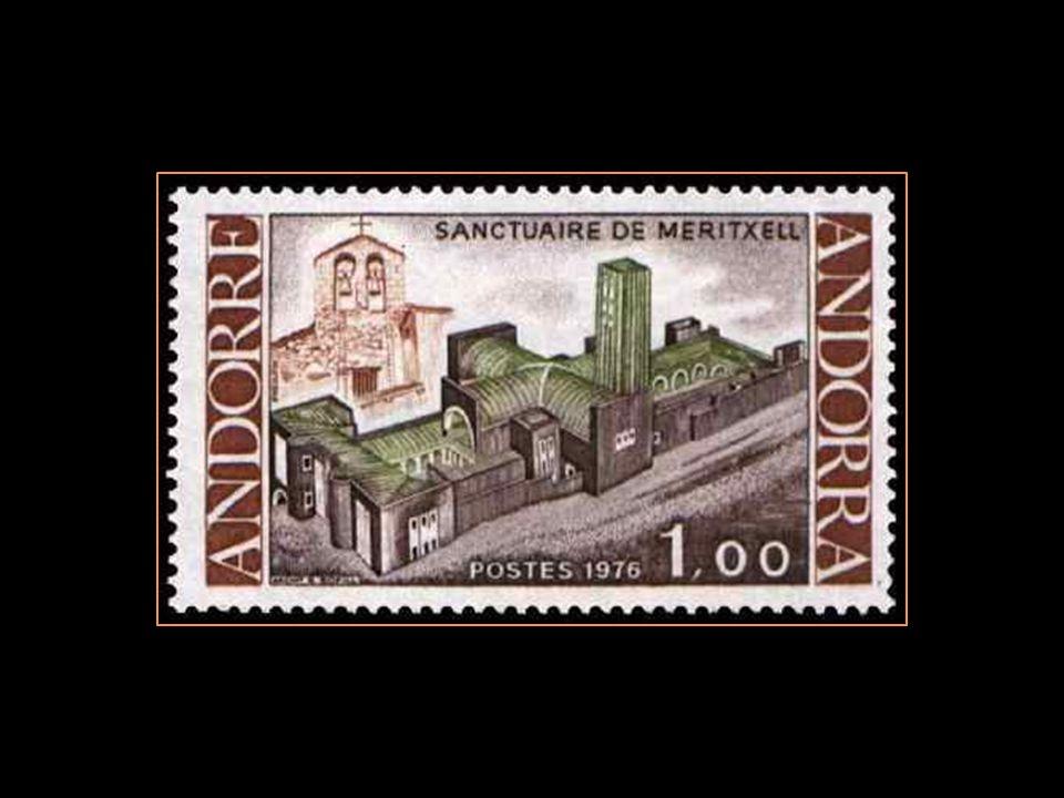 Andorre na pas de poste Mais est desservie par La poste dEspagne et LA poste française Qui elles non pas hésité À émettre des timbres-poste De meritxe