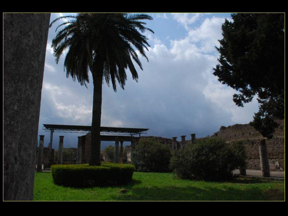 avec ses 2970 m2, cest la plus grande maison de Pompeï, construite au début du II me siècle avant J.C.