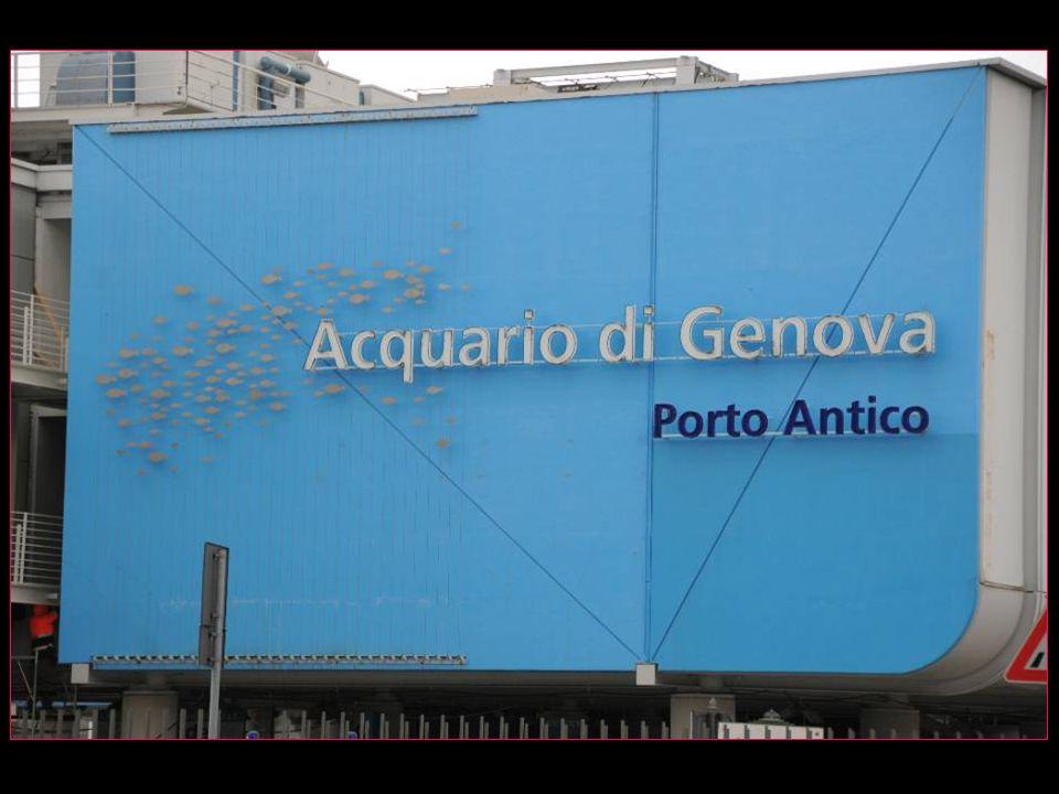 Laquarium de Gênes est le plus grand aquarium italien