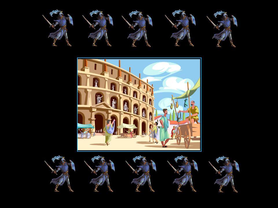 cétait le temple des gladiateurs