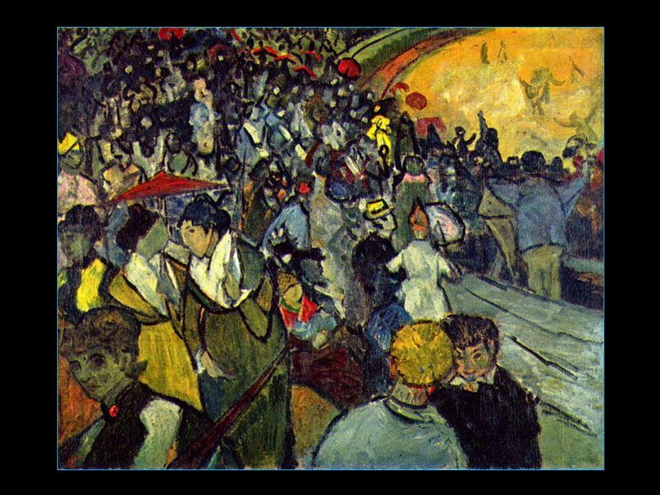 Les Arènes par Vincent van Gogh