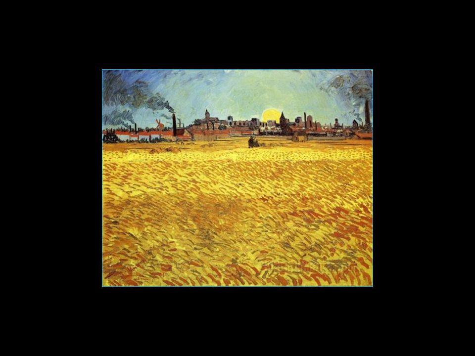 pris sur Internet quelques photos de tableaux de Vincent van Gogh