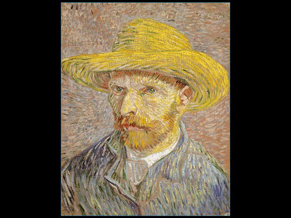 Vincent van Gogh autoportrait au chapeau de paille 1887