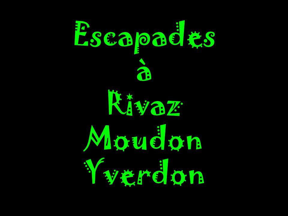 Escapades à Rivaz Moudon Yverdon