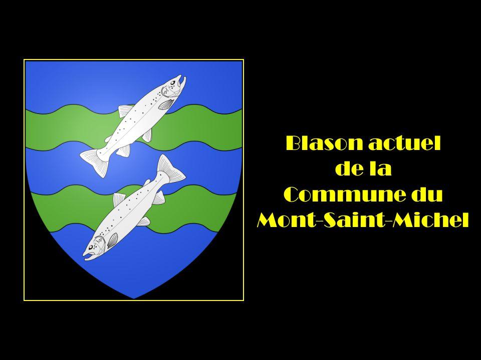 Blason actuel de la Commune du Mont-Saint-Michel