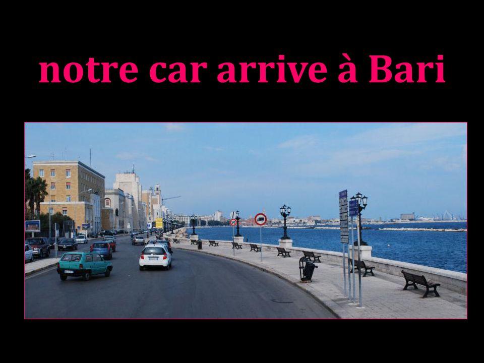 Aujourdhui Bari