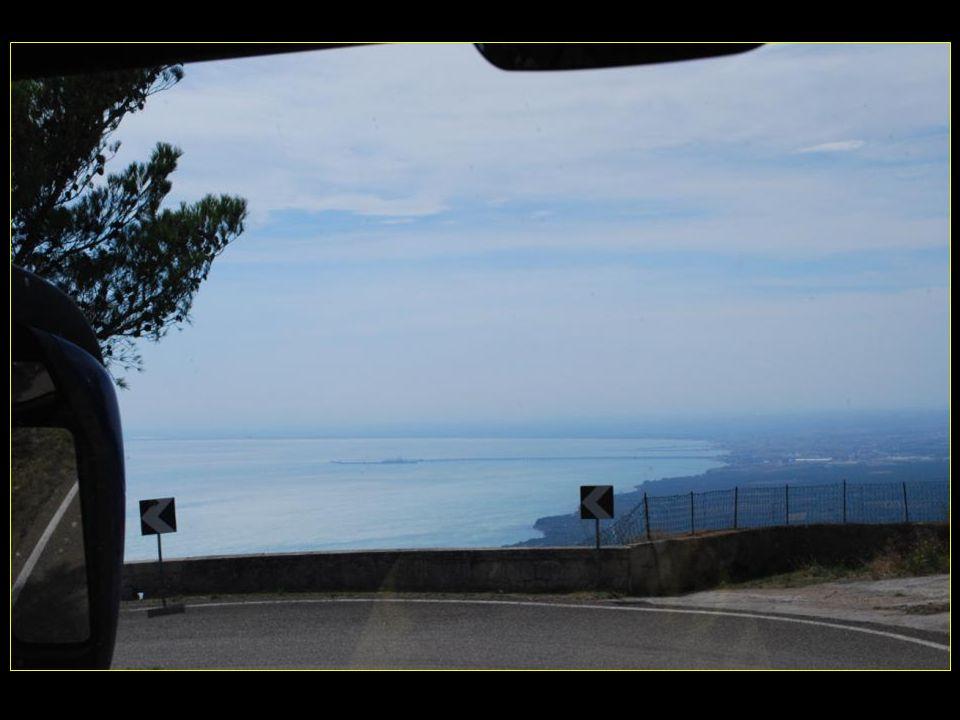 Coup dœil en direction du golfe de Manfredonia