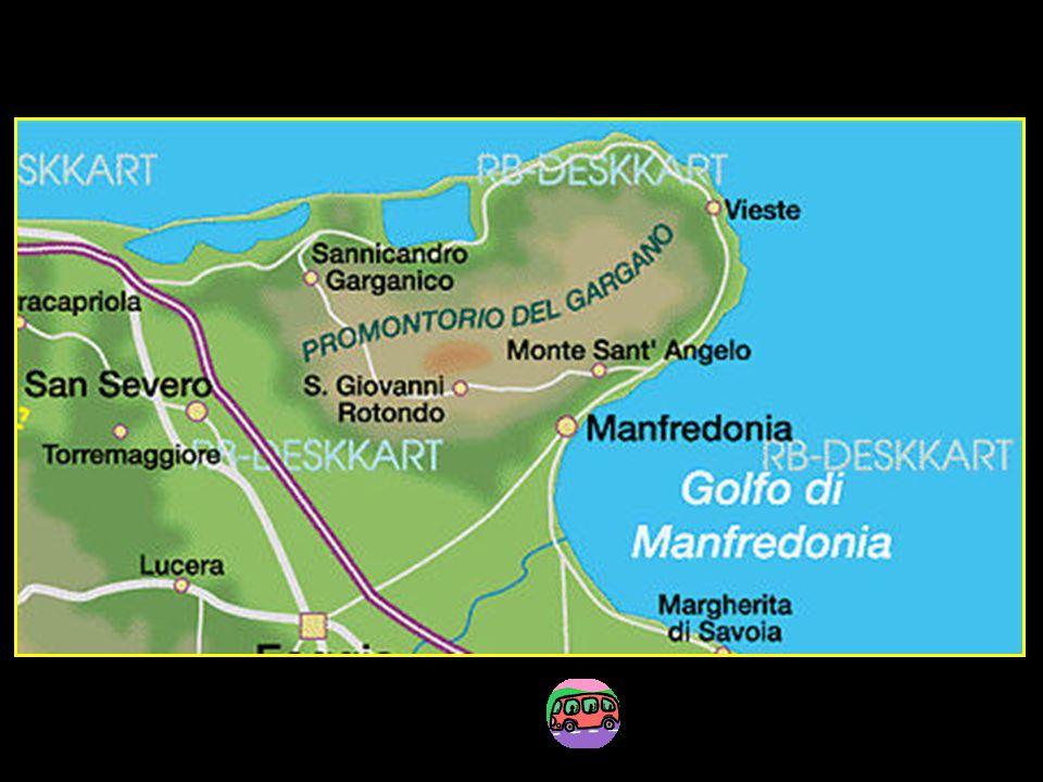 Première étape Monte Sant Angelo et côte sud du Gargano