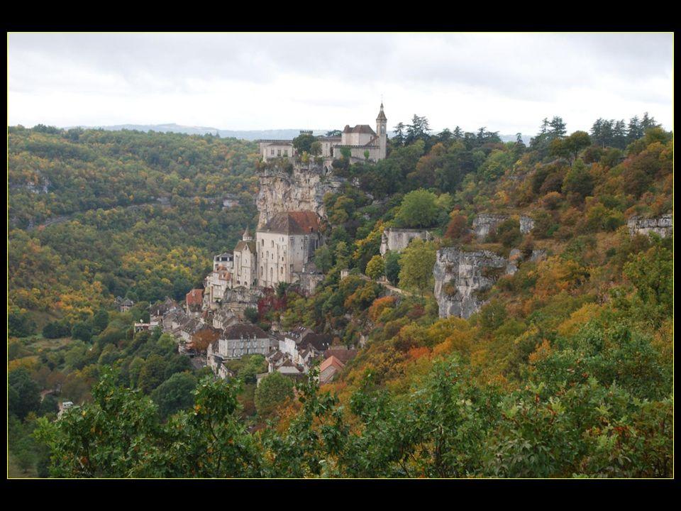 Rocamadour un des sites les plus visités de France avec Le Mont Saint-Michel, la Tour Eiffel et le château de Versailles