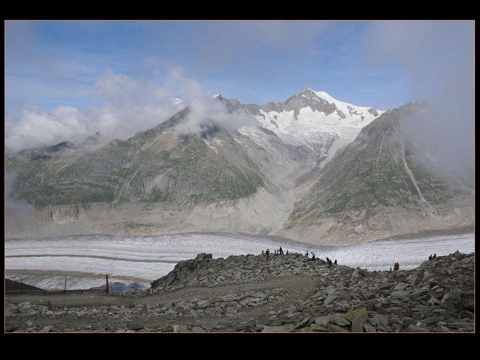 Le glacier dAletsch est le plus grand glacier des Alpes