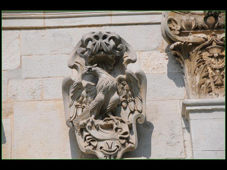 La statue en bois du Pape Martin Ier originaire de la région de Todi