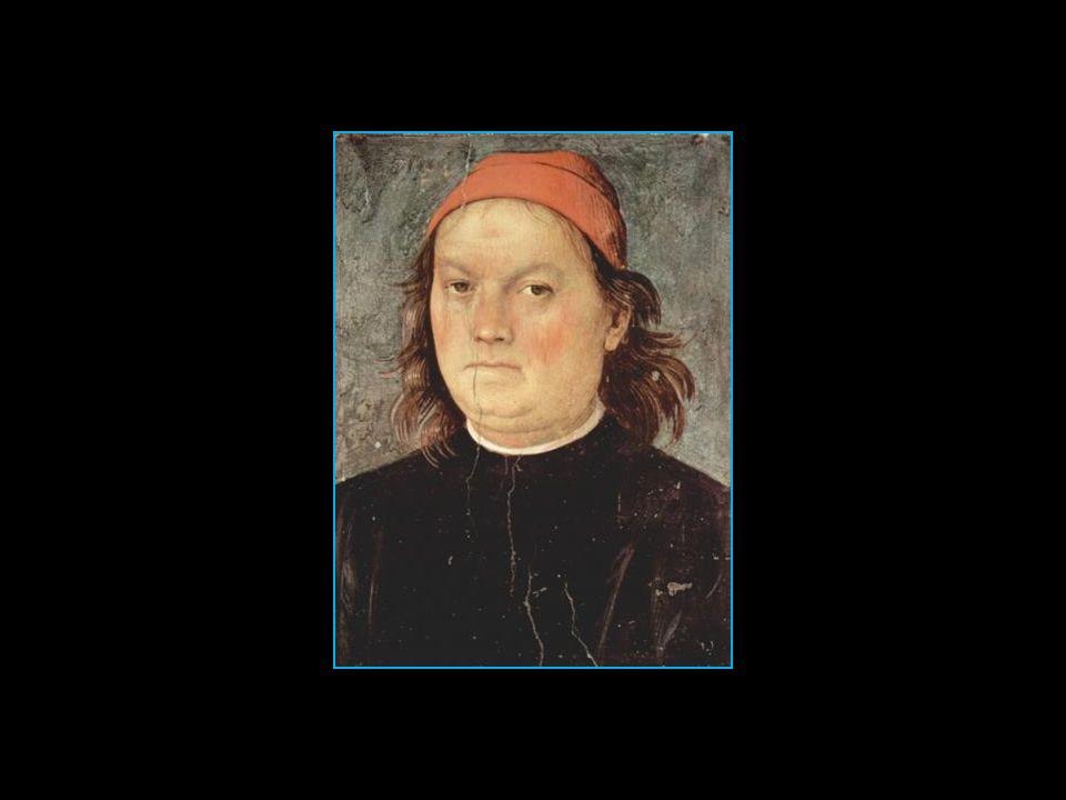 Pietro Vannucci dit le Pérugin autoportrait