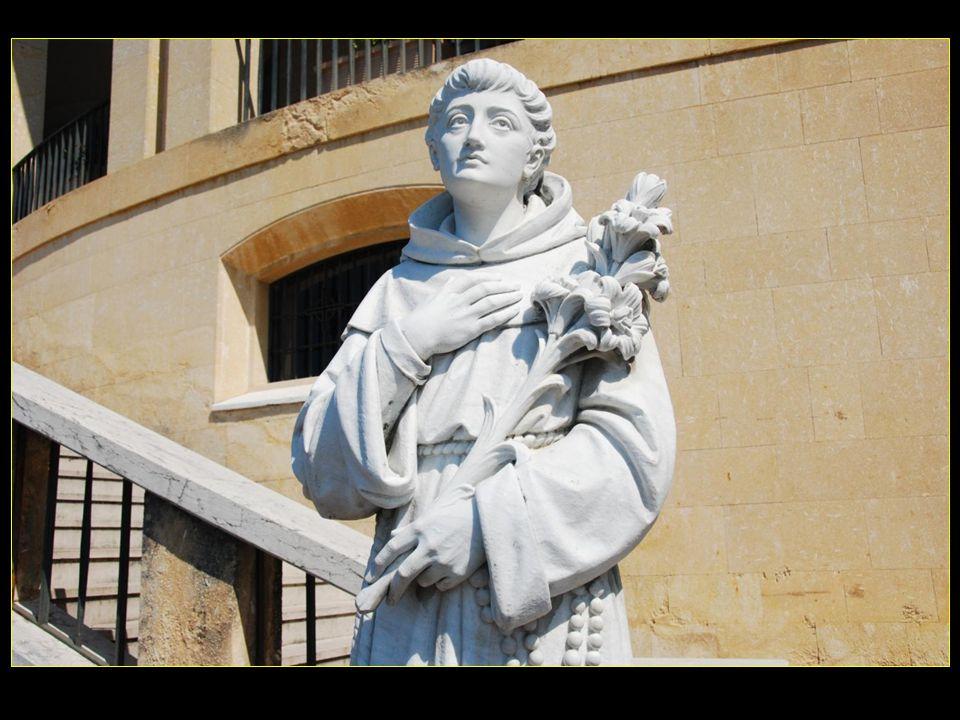 La statue de San Antonio ( di U. Zannoni ) Provenienza : primo santuario