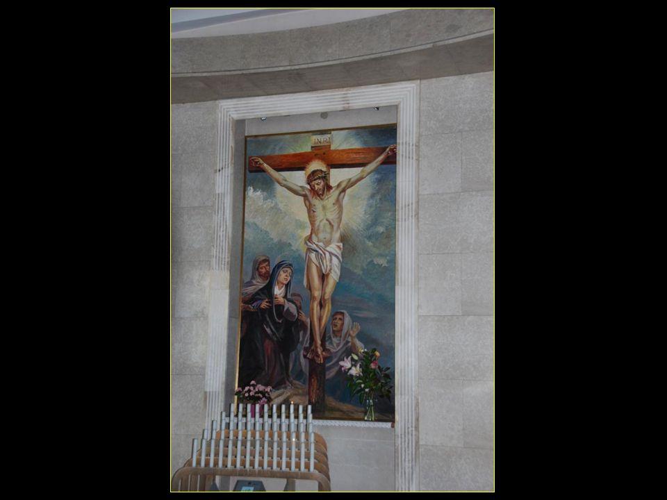 A lIntérieur du nouveau sanctuaire