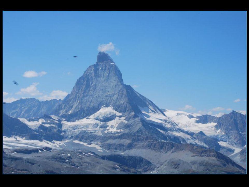 sa majesté le Cervin ou Matterhorn 4478 m