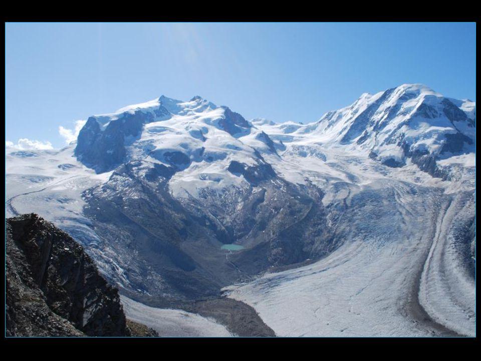 Pointe Dufour 4634 mLiskamm 4527 m