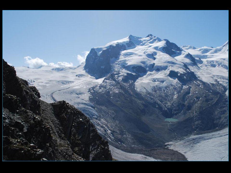 Klein Matterhorn 3883 mUnterer Theodulgletscher