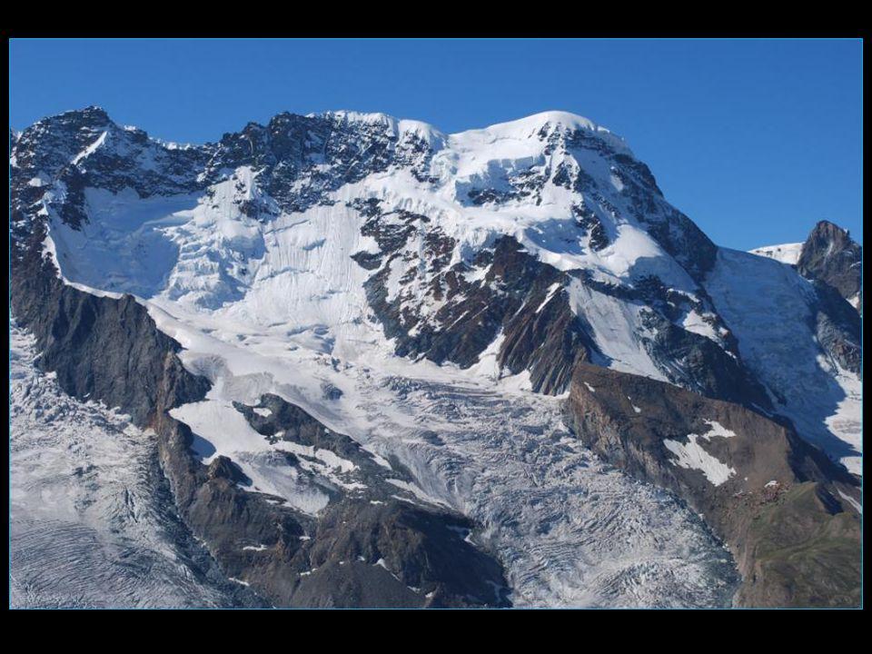 le massif du Mont Rose ou Monte Rosa
