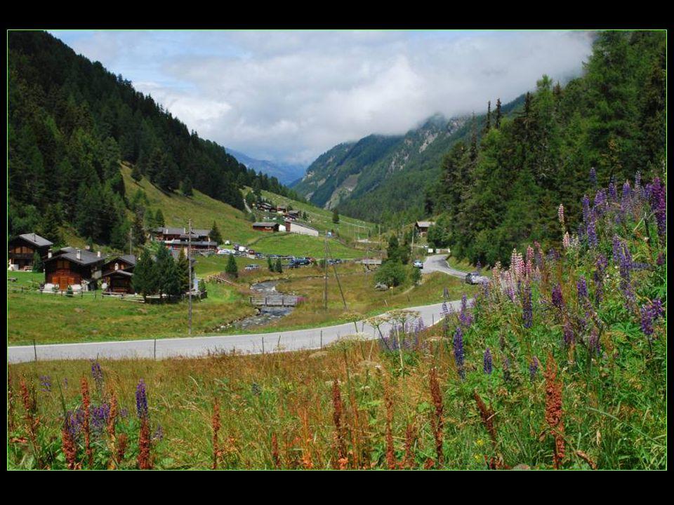 Au fond du Turtmanntal Gruben altitude de 1822 m