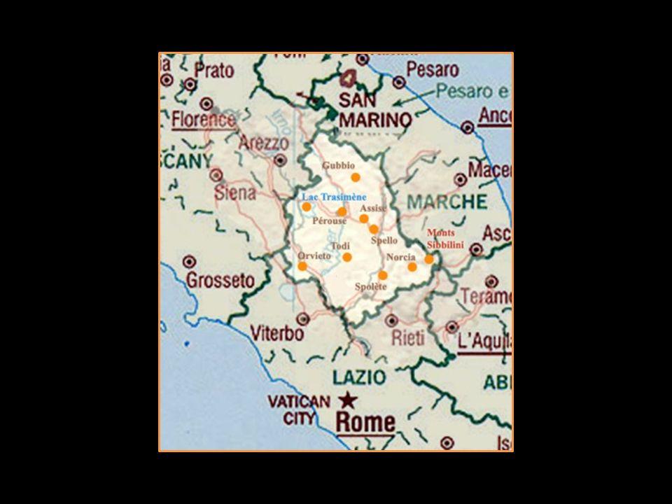 Lappellation Orvieto a une superficie de 3000 hectares, avec les cépages principaux de grechetto et trebbiano voir page suivante le cépage trebbiano