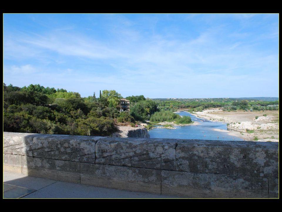 Le Gardon une rivière dont les crues peuvent être considérables