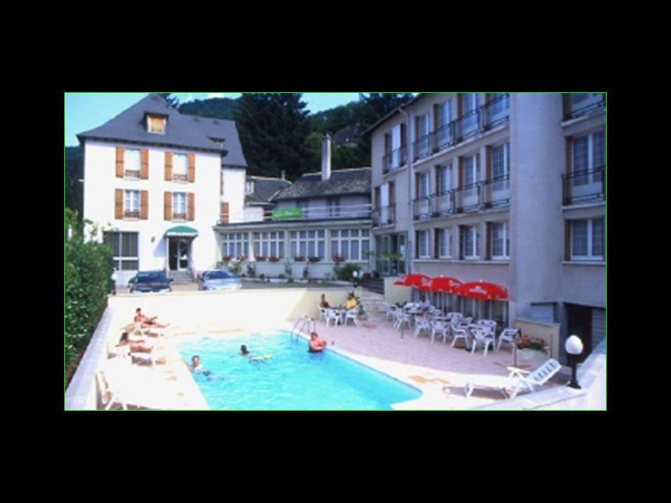 au Grand Hôtel des Sources de Vic-sur-Cère