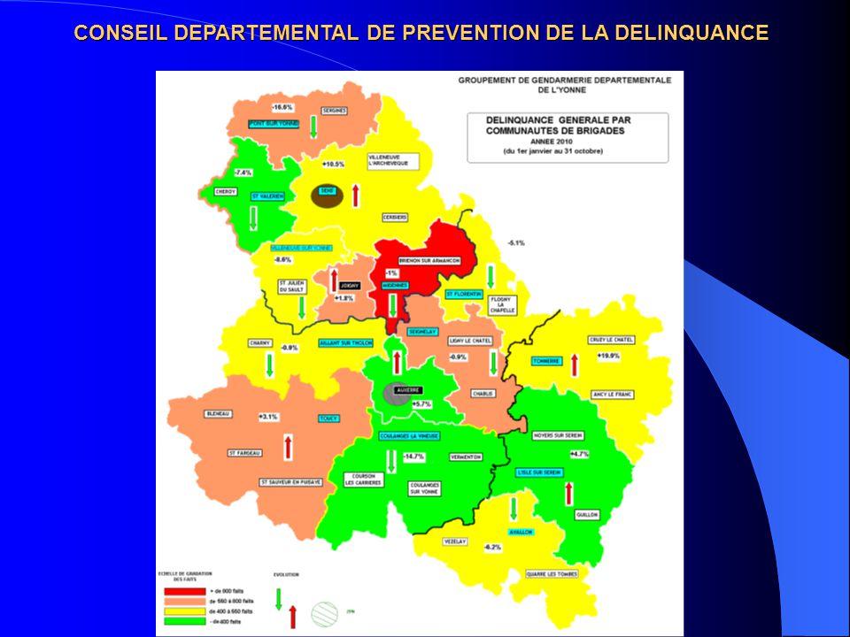 CONSEIL DEPARTEMENTAL DE PREVENTION DE LA DELINQUANCE