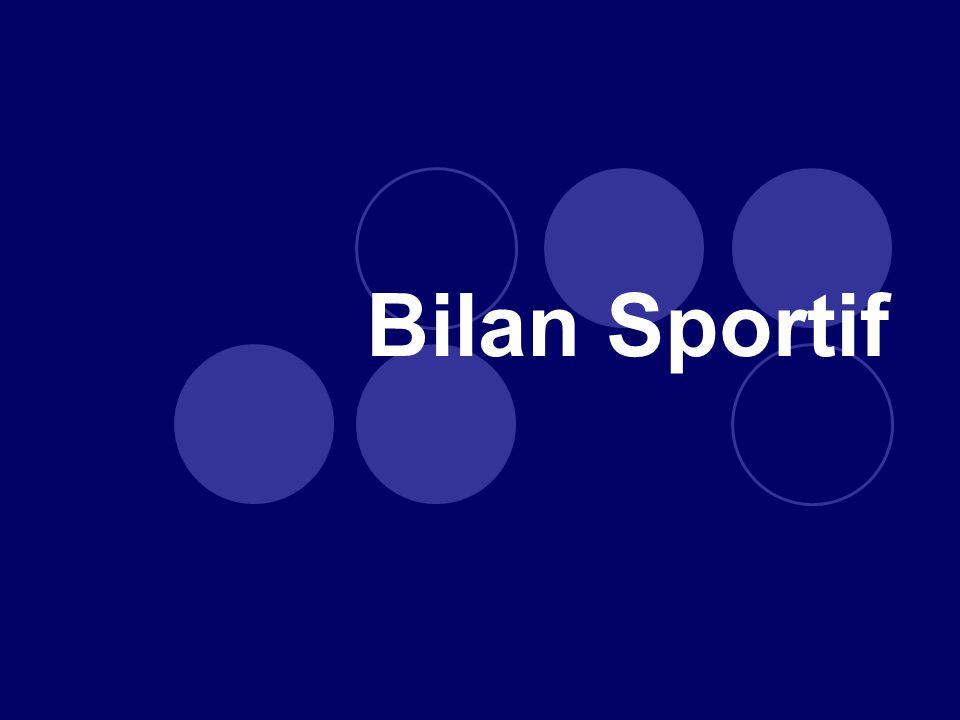 Podiums Championnats de France 9 médailles dor 12 médailles dargent 9 médailles de bronze