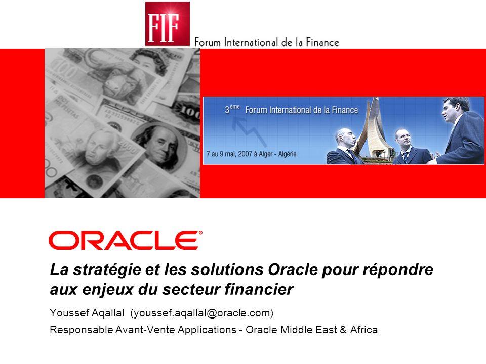 Engagement principal d Oracle : protéger, étendre, faire évoluer Version 11.5.10 Version 8.11 Version A7.3.16 & A8.1 Version 8.9 Version 7.8 Version 12 Version 9 Version 8.12 Version A9 Version 8 FUSION