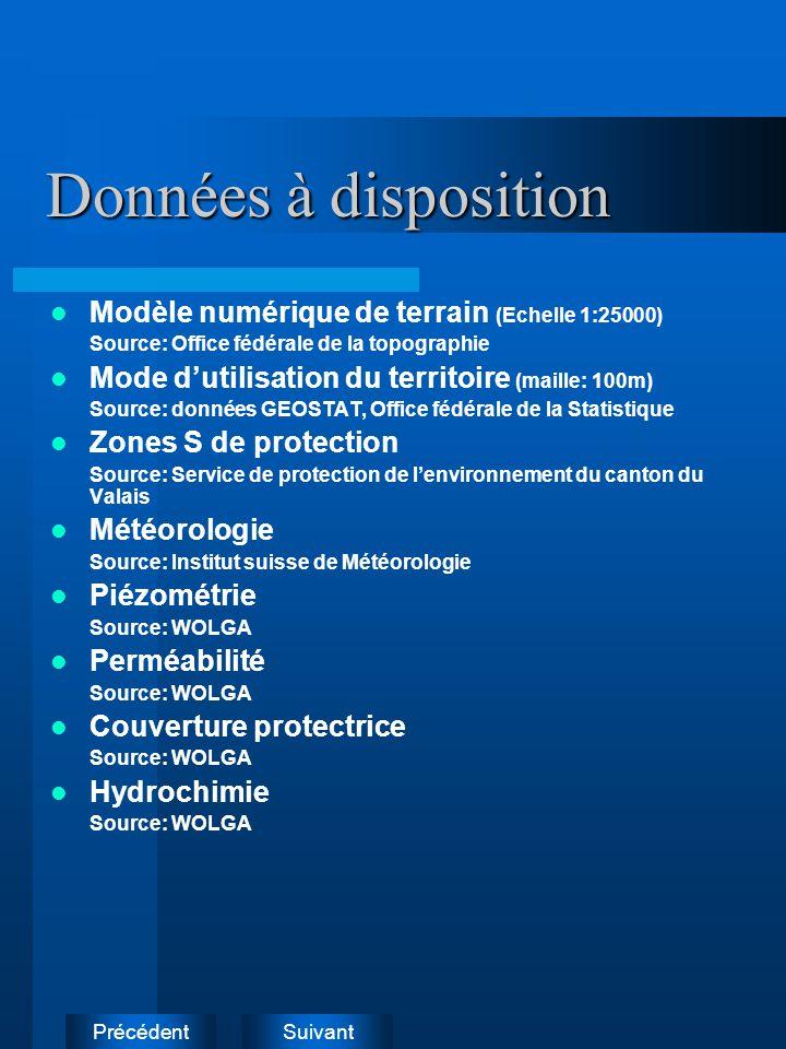 SuivantPrécédentMéthodes SINTACS (Civita 1970, Italie) DRASTIC (Aller et al.